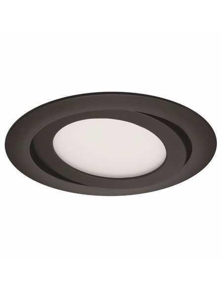 Profilux Prog40 2240 9w Matte Black Round Led Recessed Lights