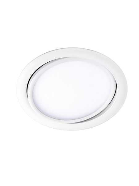 Contrast Lighting Litz Prog60 113090 12w Matte White 6 Led Round Recessed Light