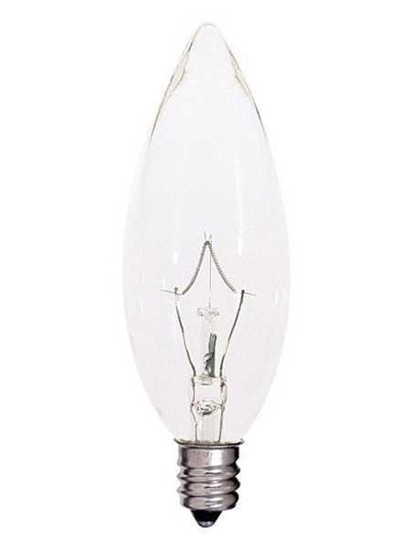 Satco S4997 60w B10 Decorative Incandescent Bulb