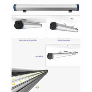 Luxwerx LUXT2G900 Superpower 3-feet 60W Linear LED Light