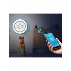 Bazz WFKIT500 White Smart WiFi Condo Alarm Kit with HD Camera