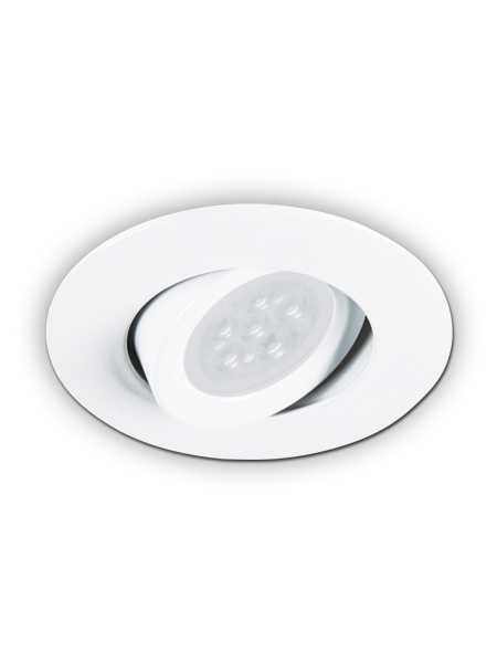 Minilux Led Recessed Light Gu10 Matte White Ic Remodel Mir10 G11 72