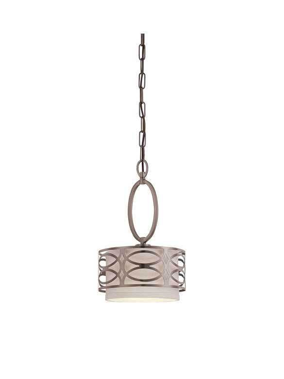 Nuvo Lighting Harlow 60 4728 1 Light Hazel Bronze Mini Pendant