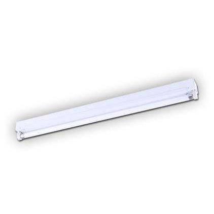 Linear fluorescent fixtures