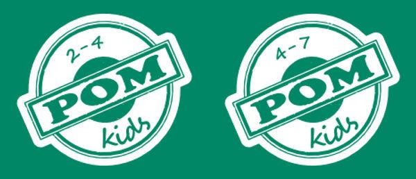 POM presenteerd: POM Kids 2–4 en POM Kids 4–7