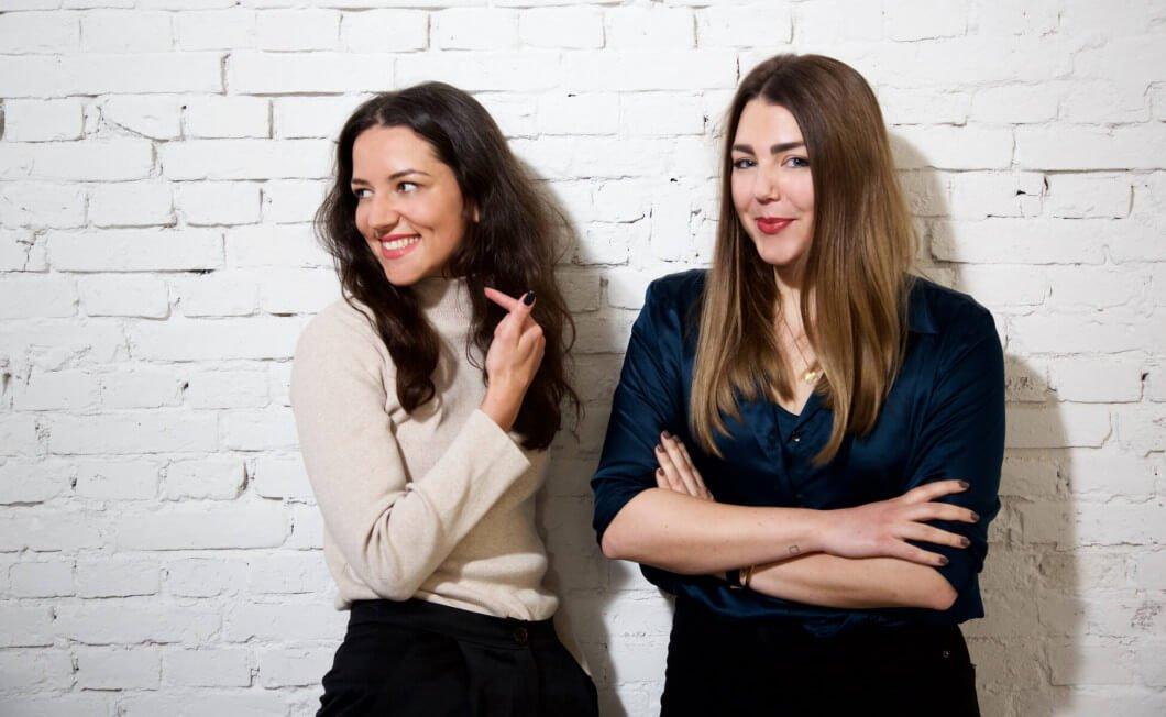 Portraitphoto von Anna und Jula, Gründerinnen von JAN 'N JUNE