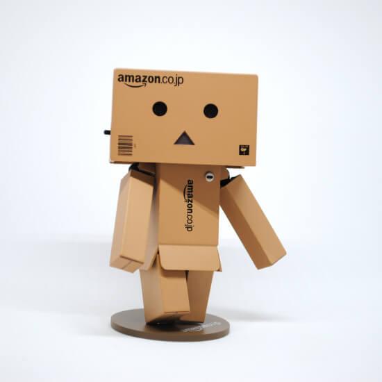 Pappmännchen aus Amazon Kartons