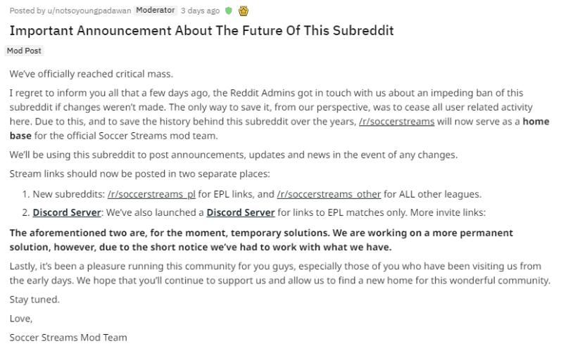 subreddit to watch online soccer