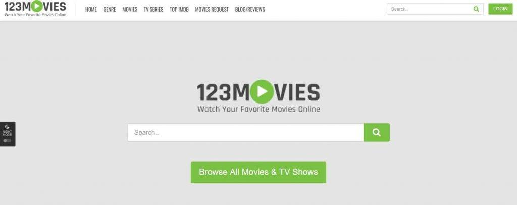 yesmovies alternative - 123movies