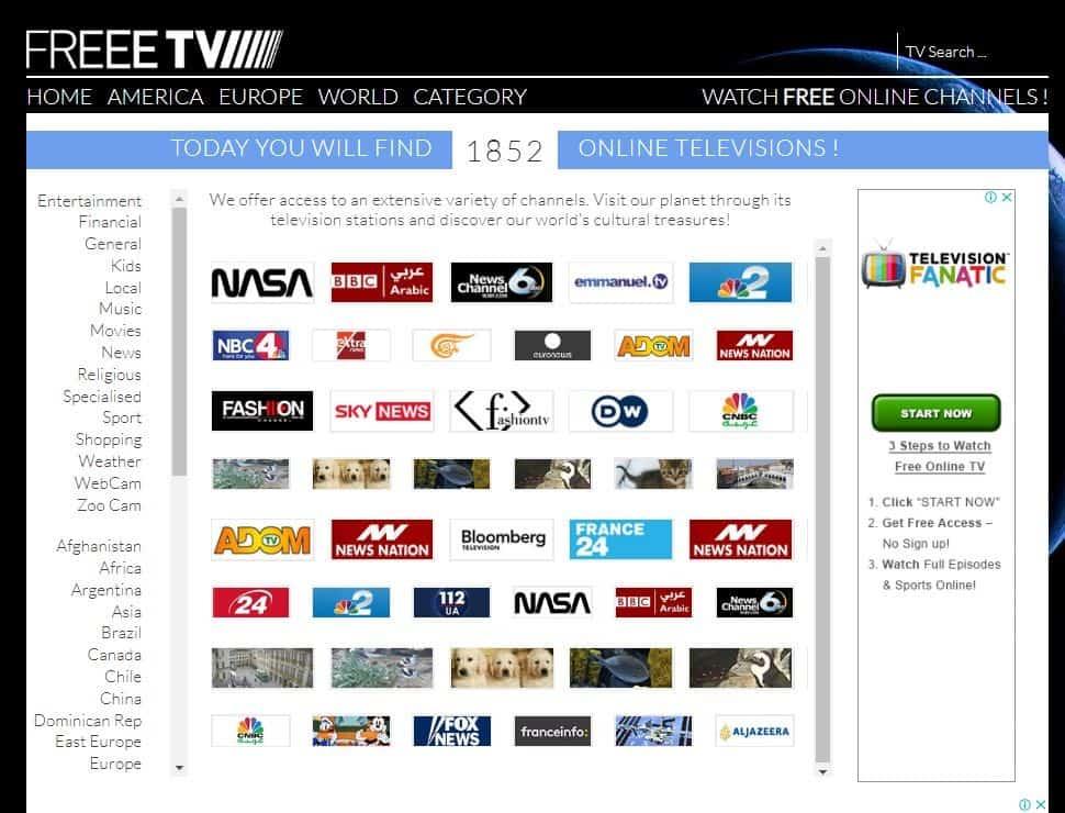 freee tv - firstonetv alternative