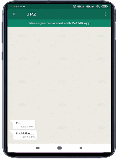how to read the message which was deleted for everyone on whatsapp