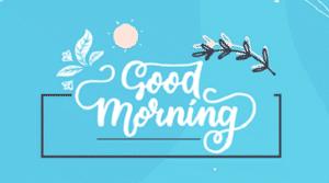 good morning motivation image