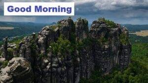 good morning mountain image