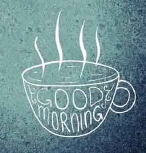 good morning tea whatsapp image