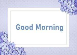 letter card with good morning message
