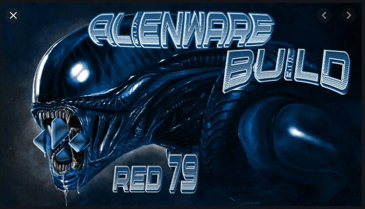 Alienware Kodi 19 build