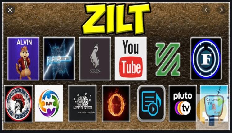 Zilt- Kodi 19 Builds