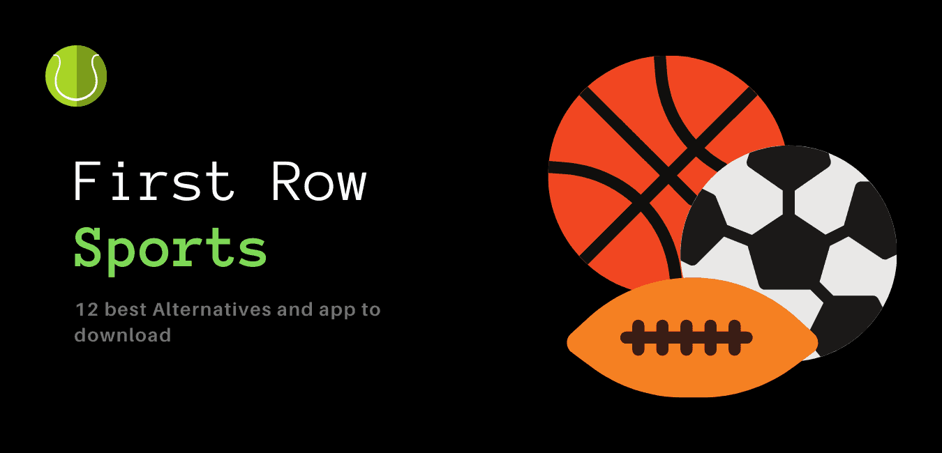First row sports alternatives