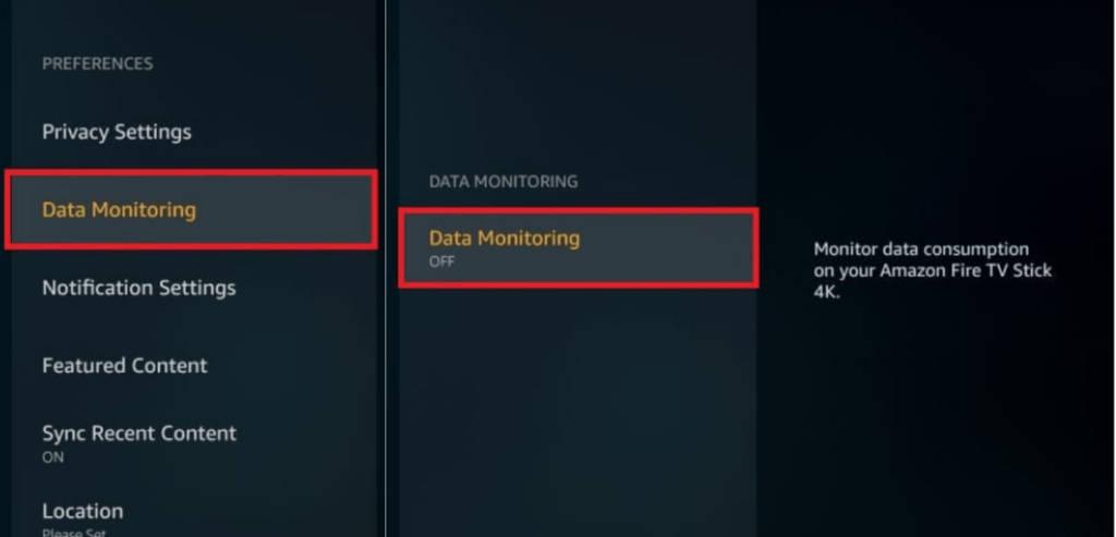 off data monitoring