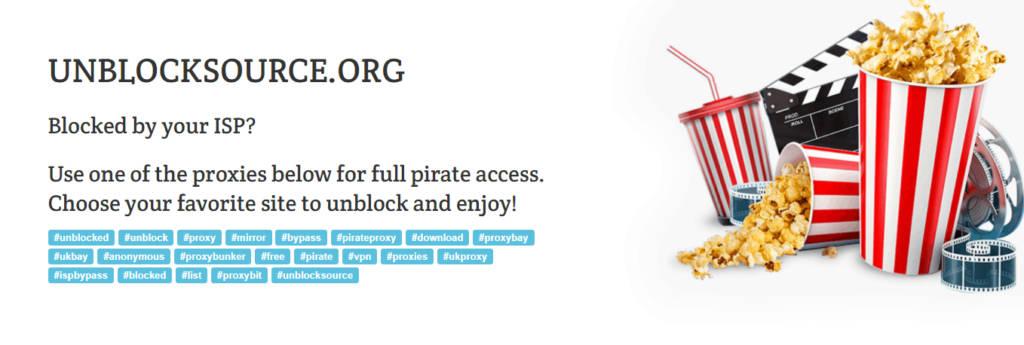 Unblock source