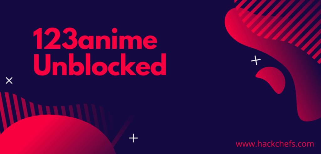Unblocked 123anime