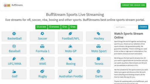Bilasport alternative, buffstream