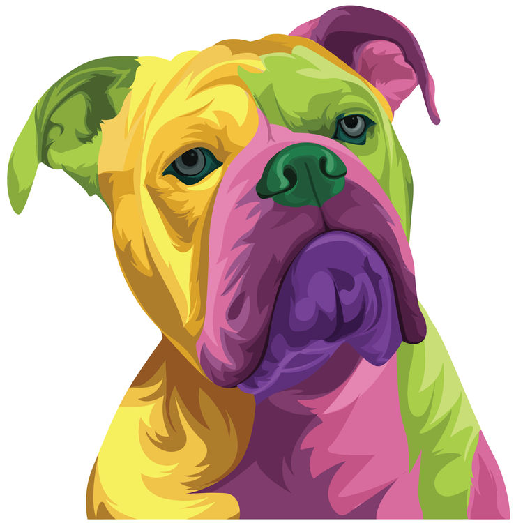 Painted Marky, the Boxer