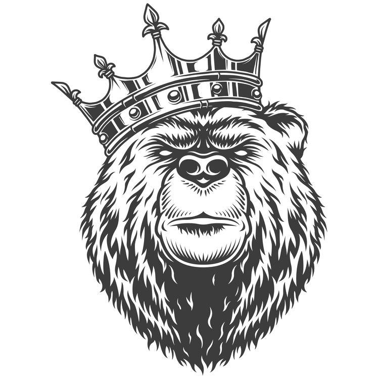 King Crowned Bear