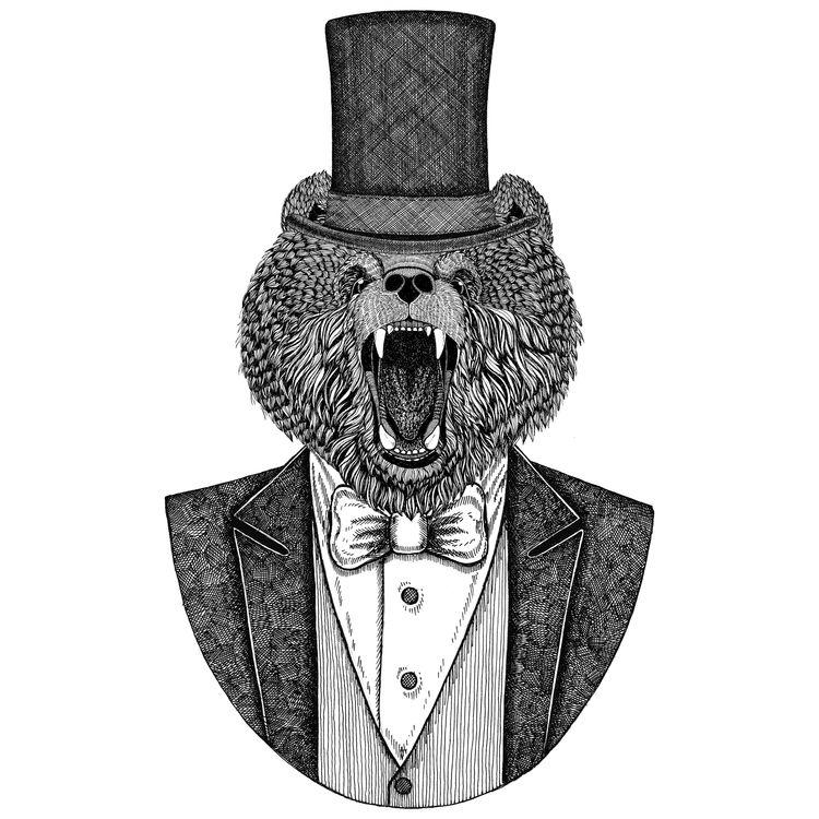 Top-Hat Ready Bear