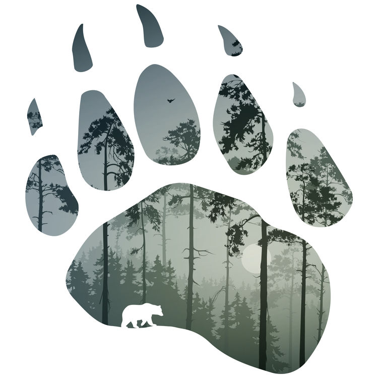 Green Forest Bear Paw