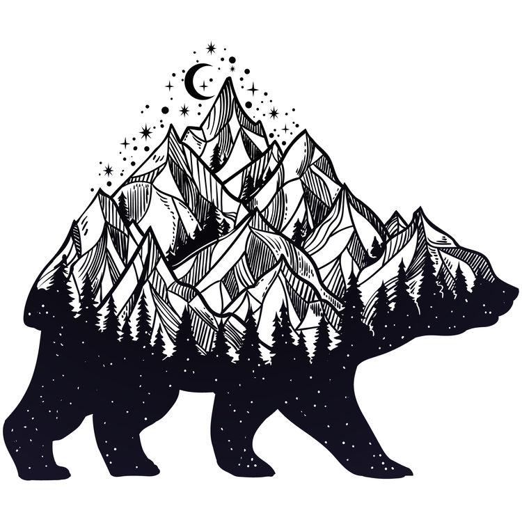 Bear Moving Mountains