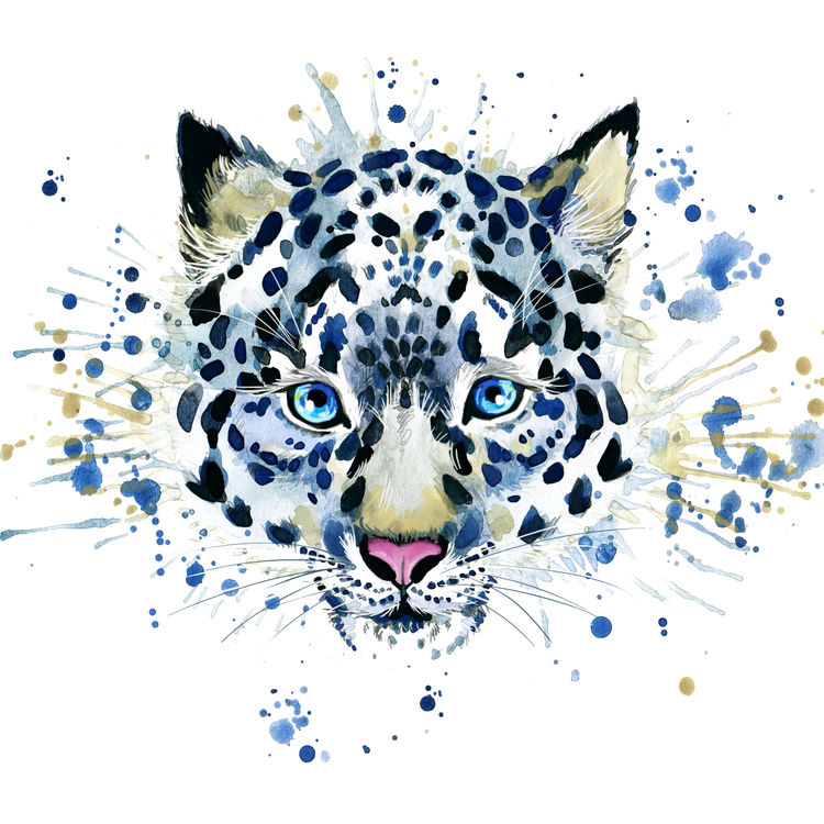Ice Blue Spotted Tiger
