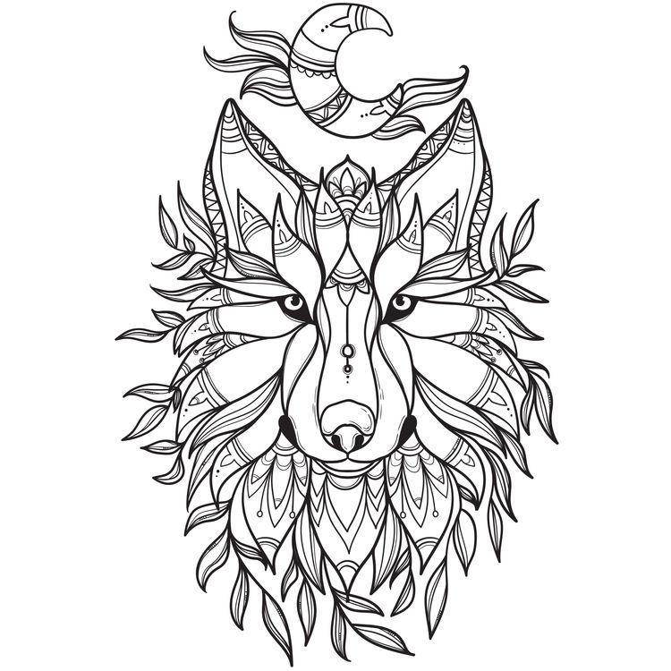 Natured Wolf