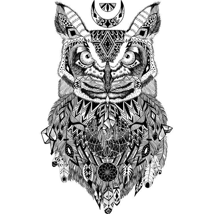 Night Owl Dreamcatcher