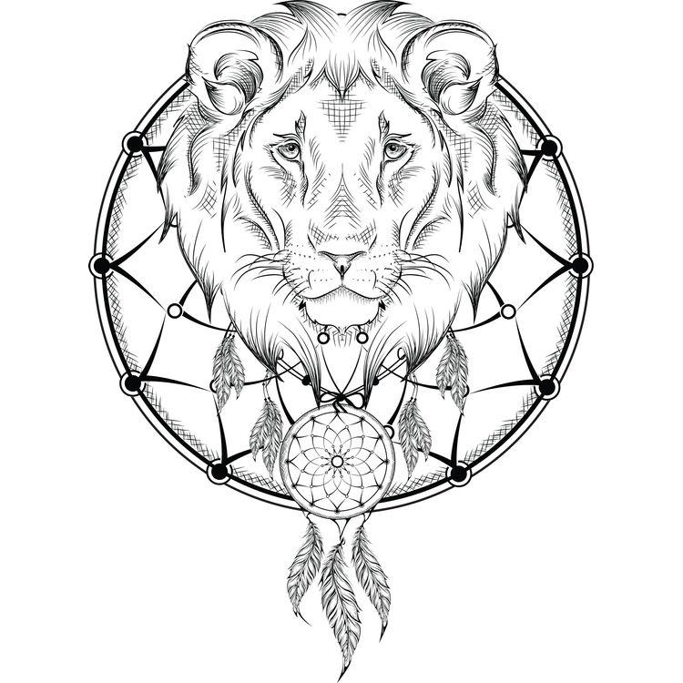 Ivan, the Lion Dreamcatcher