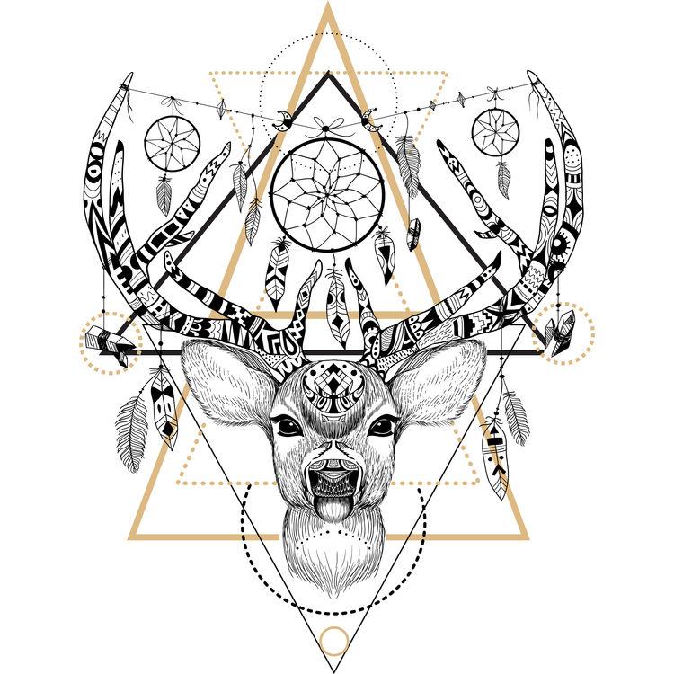 Marley, the Deer Dreamcatcher