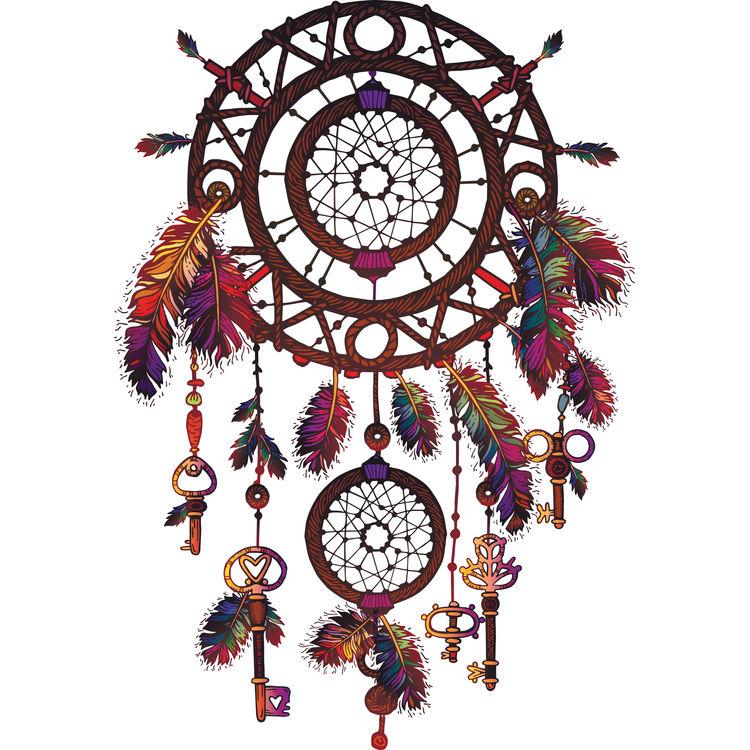 Hanging Keys Dreamcatcher