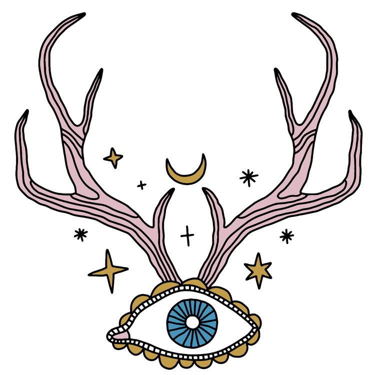 Eye Antlers