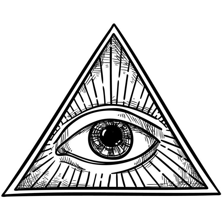 Bright Eye Triangle
