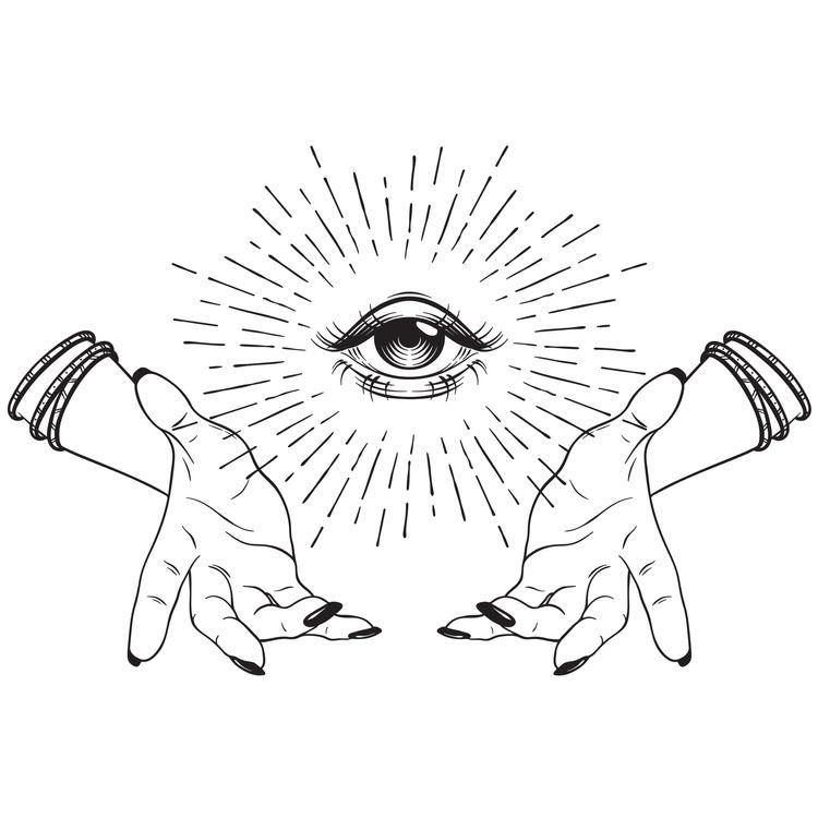Eye Forgiving Hands
