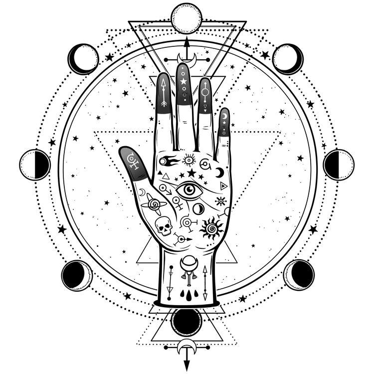 Eye Hand Moons