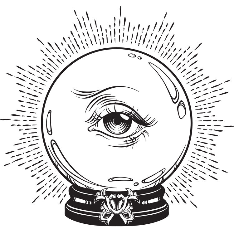 Eye Snowglobe