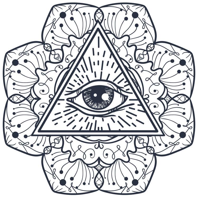Eye Triangle Daisy
