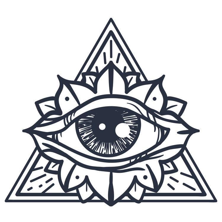 Clear Floral Eye