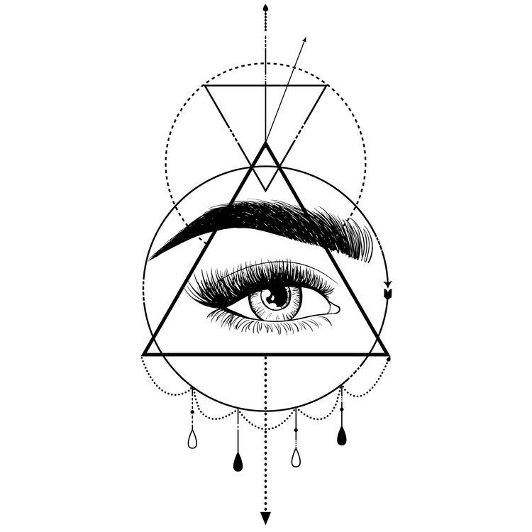 Geometric Glammed Eye