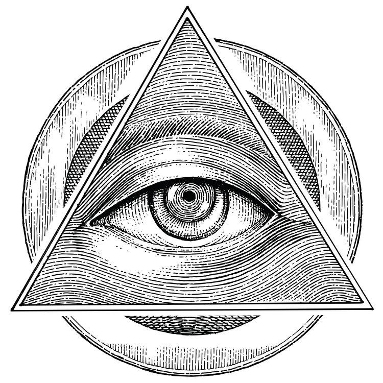 Light Drawn Eye