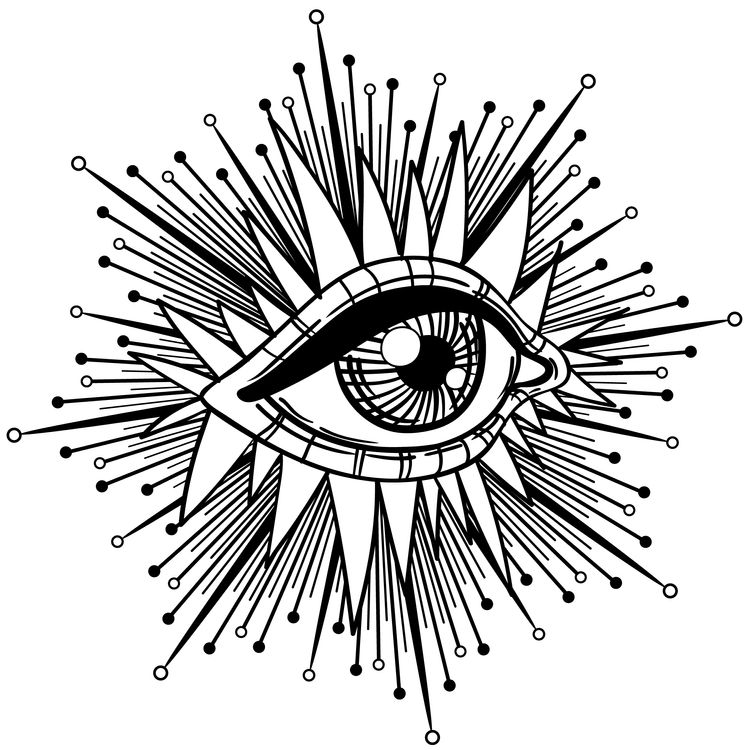 Pinned and Needled Eye