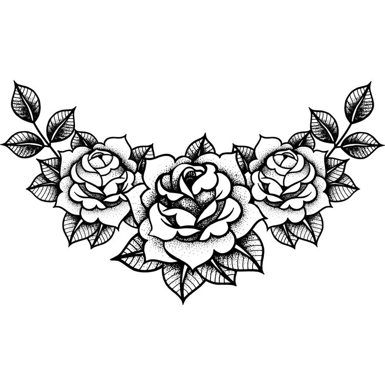 Curved Roses