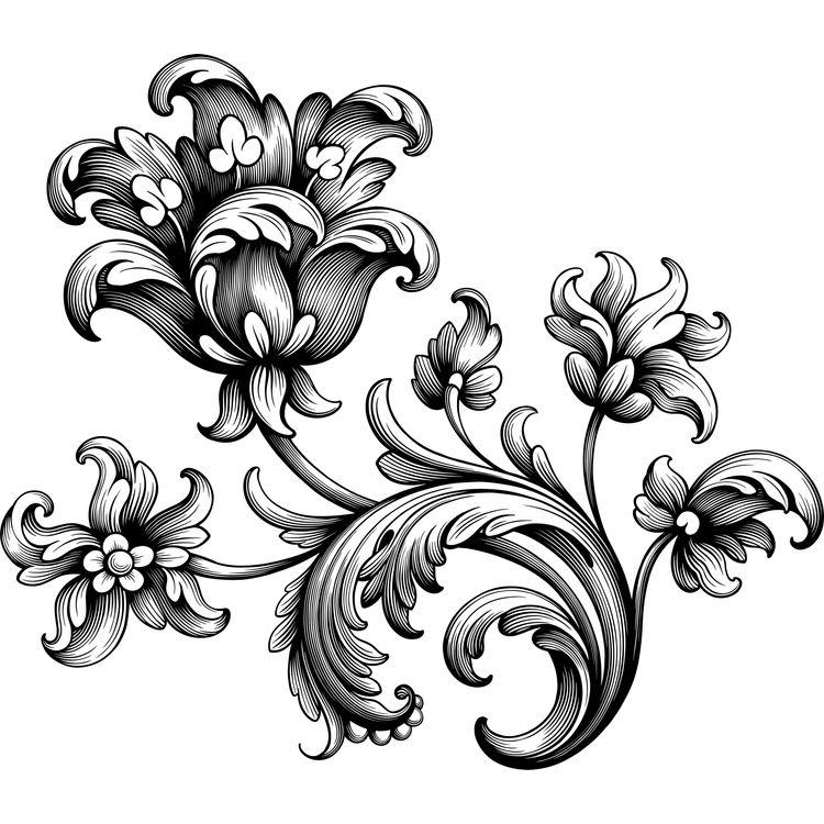 Enchanted Baroque Ornament
