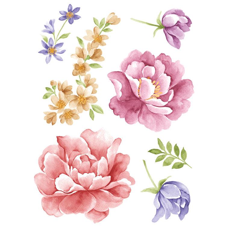 Watercolor Spring Florals